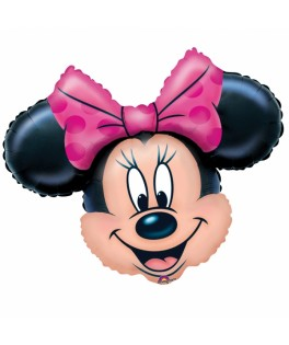 ballon tete Minnie Mouse