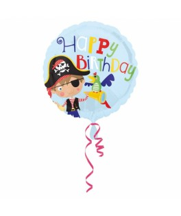ballon little pirate happy birthday