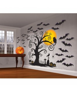 decoration murale halloween