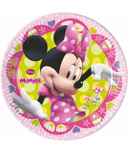 Assiettes Minnie Mouse Bowtique  x8