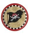 Assiettes Pirate's Comeback   x8