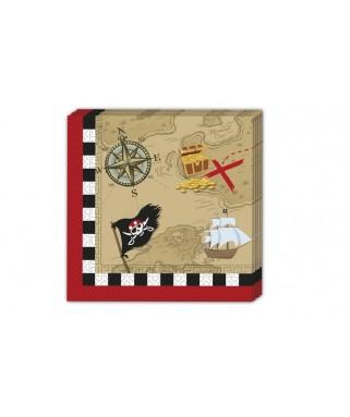 Serviettes Pirate's Comeback  x20