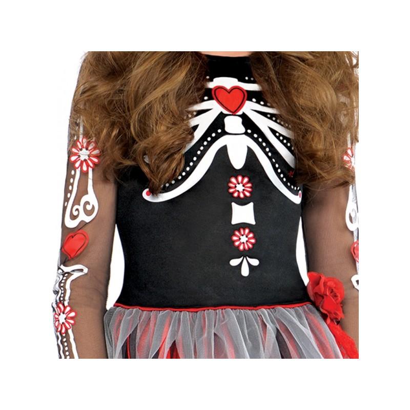 d guisement robe jour des morts halloween happy fiesta lyon. Black Bedroom Furniture Sets. Home Design Ideas