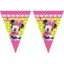 Guirlande fanions Minnie Mouse Bowtique