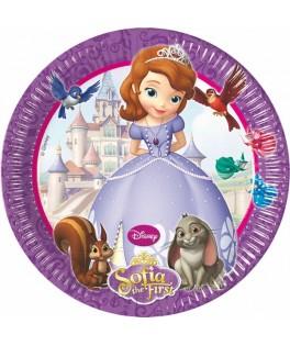 Assiettes Princesse Sofia   x8