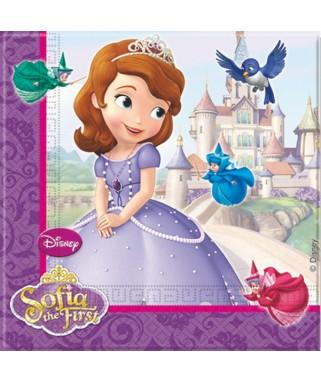 Serviettes Princesse Sofia  x20