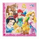 Serviettes Princesses & Animaux  x20