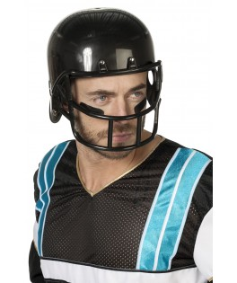 casque football americain noir adulte
