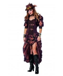 deguisement robe steampunk luxe