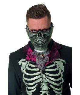 demi masque machoire squelette