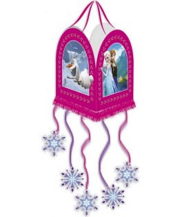 pinata la reine des neiges