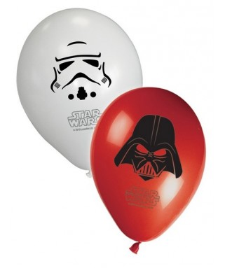 8 Ballons  Star Wars The Force Awakens