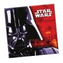 Serviettes  Star Wars The Force Awakens Dark Vador  x20