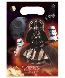 Sacs cadeaux Star Wars The Force Awakens  x6