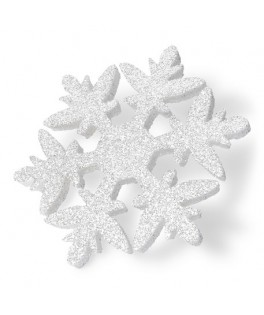 Flocon blanc paillete en polystyrene