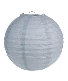 lanterne papier gris 30 cm