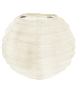 lanterne papier ivoire 10 cm