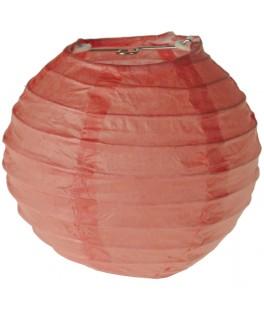 lanterne papier corail 10 cm
