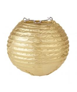 lanterne papier or 7.5 cm