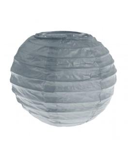 lanterne papier gris 7.5 cm