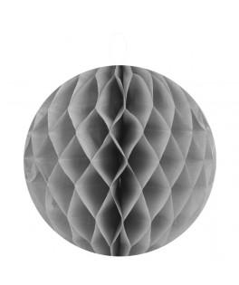 Boule alvéolée grise 20 cm