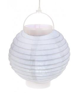 Lampion lumineux blanc