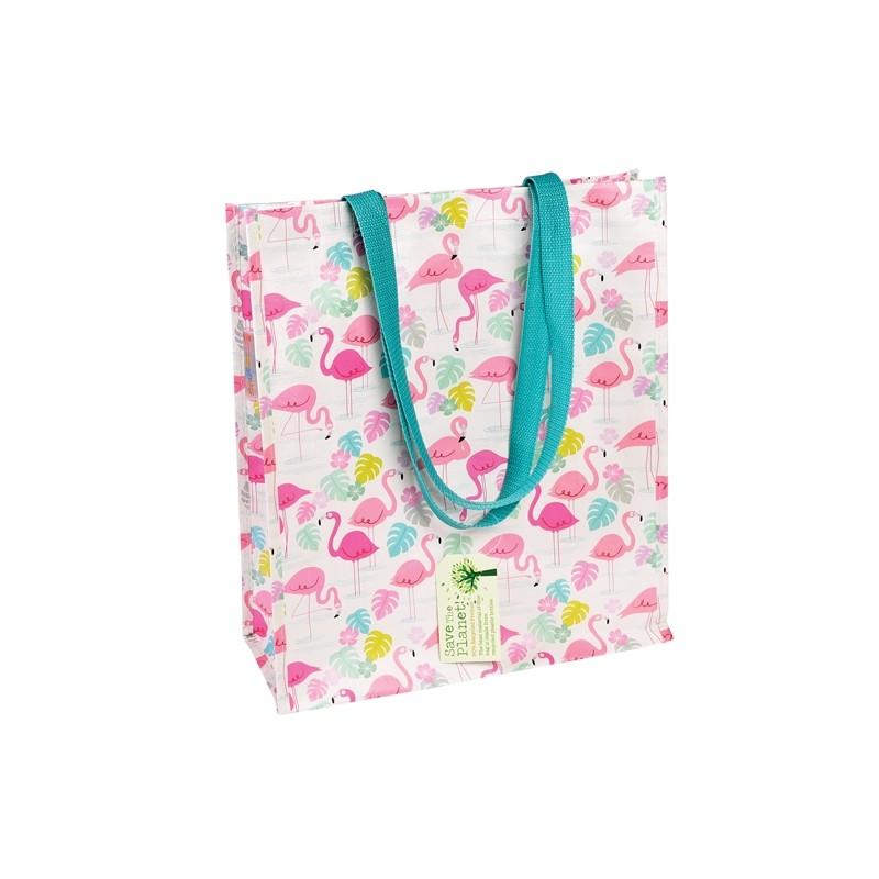 65422543f3 Sac Cabas Shopping Flamant rose - Happy Fiesta Lyon