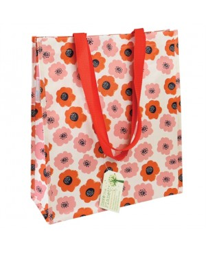 sac cabas shopping poppy vintage