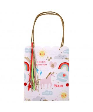 Sacs cadeaux Licorne