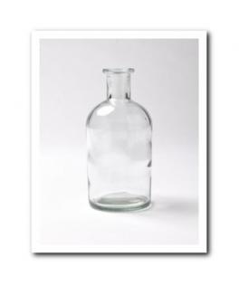 vase bouteille champêtre