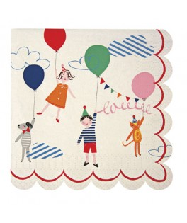 serviettes papier Sweet Children Toot Sweet (23 cm) x12