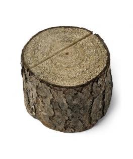 Porte menu buche de bois - 5,5 cm