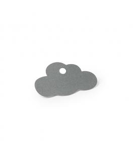 Etiquettes nuage grises
