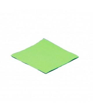 Serviettes Micro point vert anis  x100