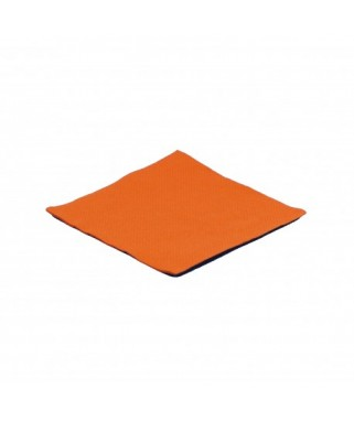 Serviettes Micro point Mandarine  x100