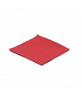 Serviettes Micro point Rouge  x100