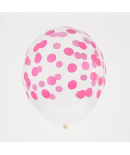 Ballons confettis fuschia My Little Day