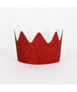 couronnes princesse paillettes rouges My Little Day