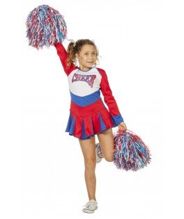 Deguisement Pompom Girl Cheerleader fille