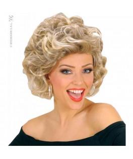 Perruque blonde Sandy  Années 60