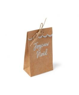 Pochettes cadeaux Kraft argent