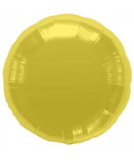 Ballon mylar rond doré