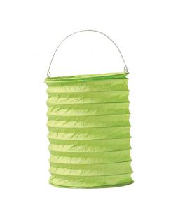 lampion papier vert anis