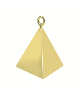 Poids ballons Pyramide or