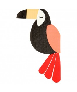 Serviettes Tropical Toucan