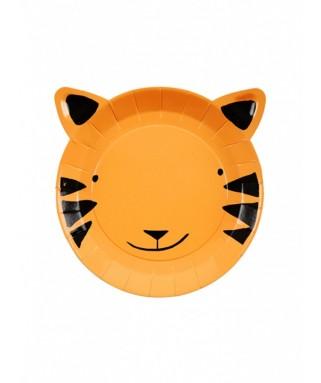 petites assiettes Tigre