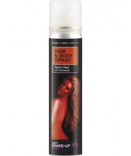 Spray UV BLEU corps et cheveux Lumière noire