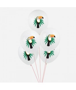 Ballons Toucan tropical