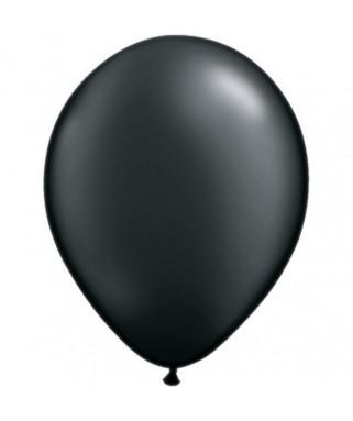 50 Ballons ronds noirs