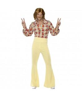 Déguisement  Hippie Groovy Guy Années 60